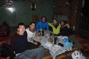 Trek lac Inlé - Repas chez l'habitant