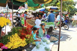 Mandalay - Marché