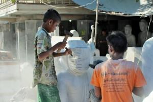 Mandalay - Tailleur de marbre