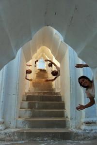 Mingun - Temple blanc