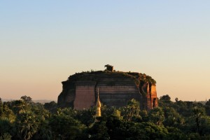 Mingun - Pagode inachevée