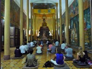 Phnom Penh - Initiation à la méditation