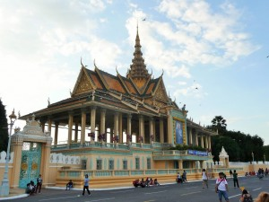 Phnom Penh - Entrée palais royal
