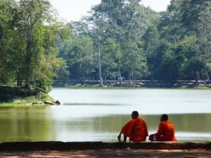 Angkor Wat - Moines