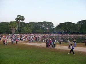Angkor Wat - Ca se bouscule