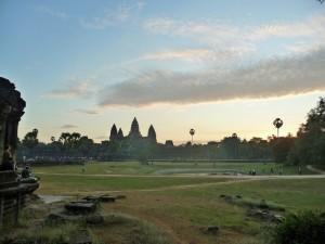 Angkor Wat - Lever du soleil