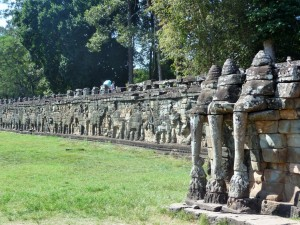 Terrasse des éléphants