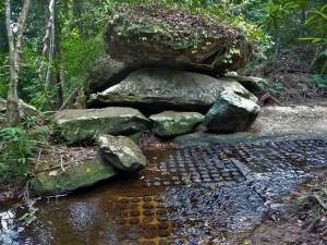 Kbal Spean - Lingams