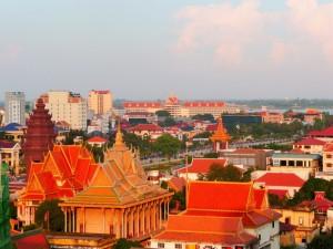 Vue de Phnom Penh
