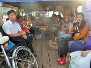 Kratie - Navette pour Koh Trong