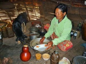 Village Phnong - Cuisine
