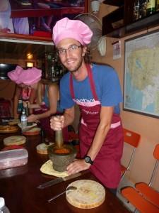 Battambang - Cours de cuisine
