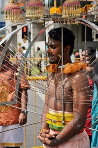 Little India - Fête de Thaipusam