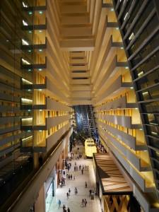 Marina Bay - Intérieur de l'hôtel