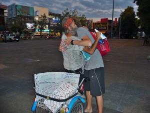 Chiang Mai - Free hugs