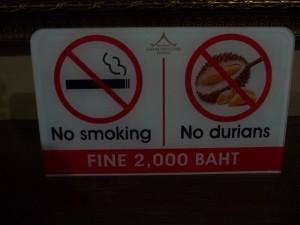 Chiang Mai - No Durian