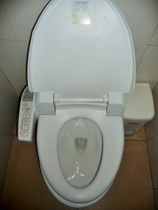 Bangkok - Toilettes du futur