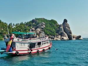 Koh Tao - Rocher Bouddha