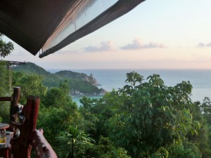Koh Tao - Vue du High Bar