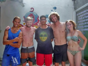 L'équipe Open Water