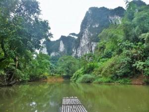 Khao Sok - Radeau de bambou