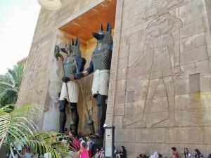 Universal Studio - Comme en Egypte