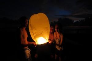 Seminyak - Lanternes chinoises