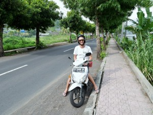Le scooter, indispensable à Bali