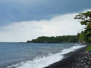 Tulamben - Plage de roches noires