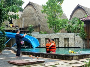 Nusa Lembongan - Les chinois en vacances