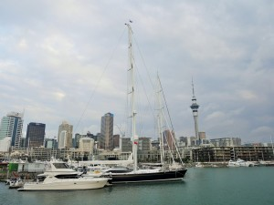Auckland - Quartier du port