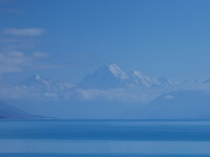 Lac Pukaki - Mount Cook