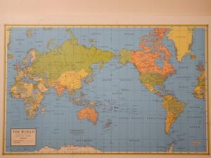 Le monde vu par la NZ