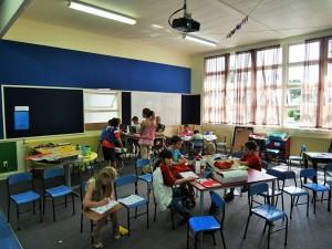 Présentation à l'école