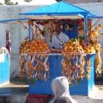 Stand d'oranges - Essaouira