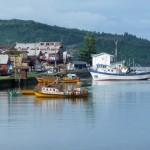 Quemchi - Port à marée haute