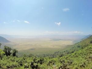 Cratère du Ngorongoro.