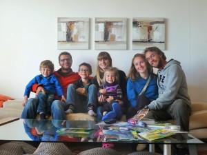 Capetown - Anthony, Serena et leurs enfants
