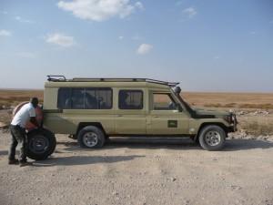 Serengeti - 5ème crevaison!