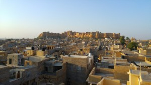 Jaisalmer - vue de l'hôtel