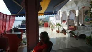 Udaipur - Notre hôtel