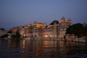 Udaipur - Palais