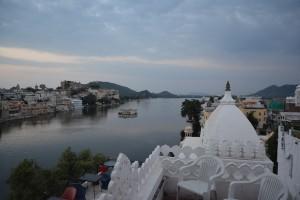 Udaipur - Depuis notre hôtel