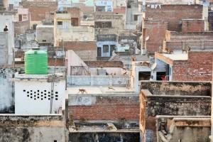 Varanasi - Toit de l'hôtel