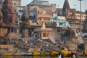 Varanasi - Crémation