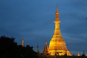 Rangoun - Pagode Sule