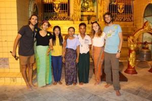Rangoun - Avec les locaux