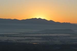 Mandalay - Lever du soleil
