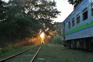 En route pour Monywa