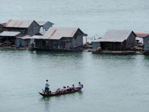 Koh Trong - Villages flottants vietnamiens
